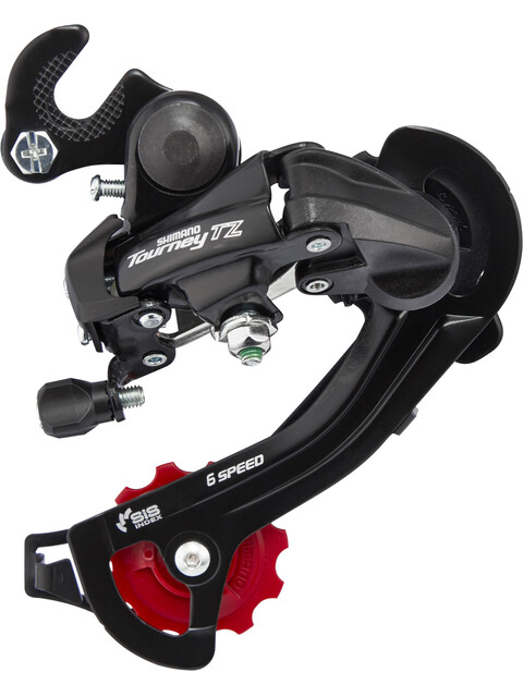 Shimano Tourney TZ RD-TZ500 Schaltwerk 6-fach mit Adapter schwarz
